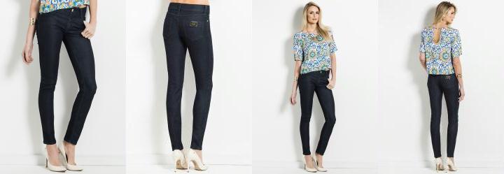 Cal�a Jeans Escuro Colcci