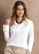 Camisa Manga Longa Branca