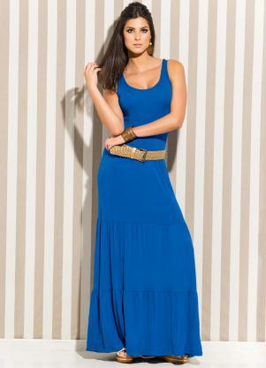 Vestido Longo (Azul Royal)