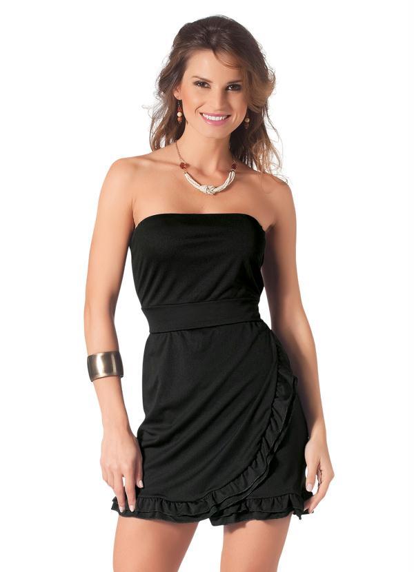 Vestido preto elanca